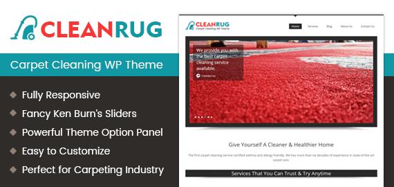 Carpet Cleaning WordPress Theme