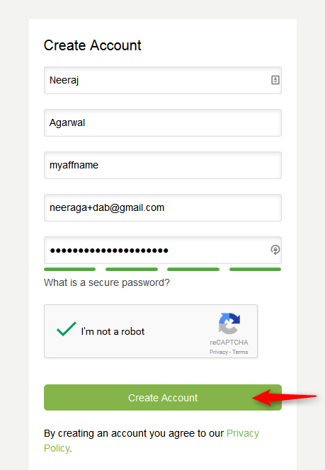Step1.Signup Envato Account