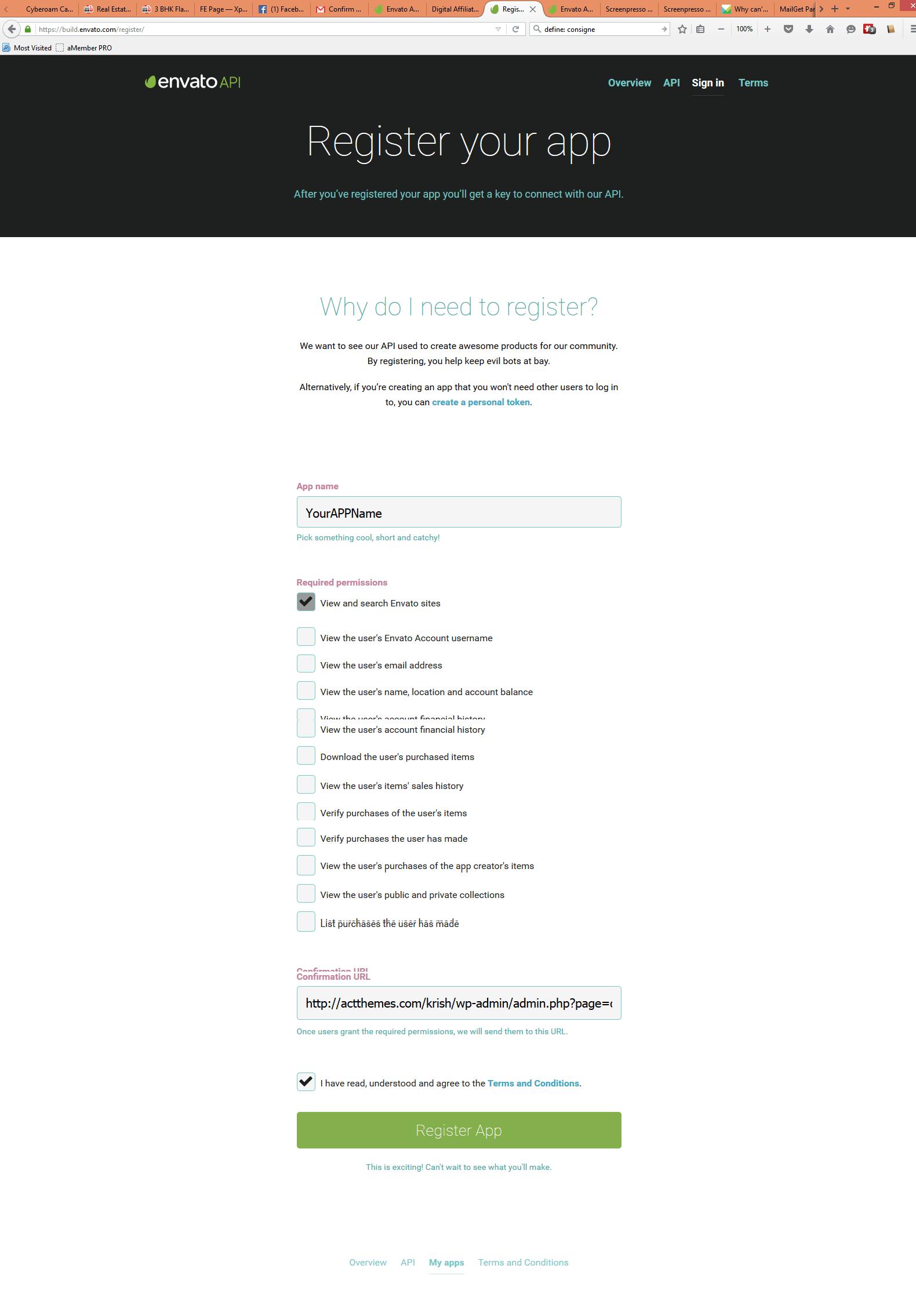 Step3.1 Register App