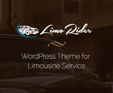 Limo Rider - Limousine WordPress Theme