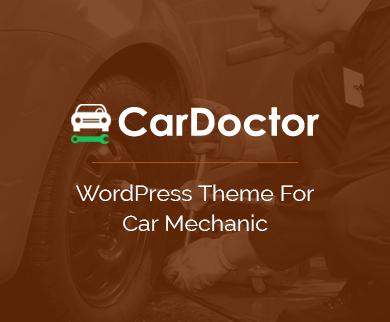 Car Doctor - The Car Mechanic WordPress Theme