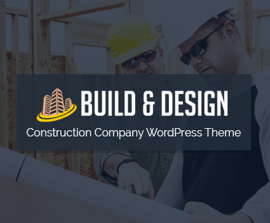 Build & Design - Construction Company WordPress Theme