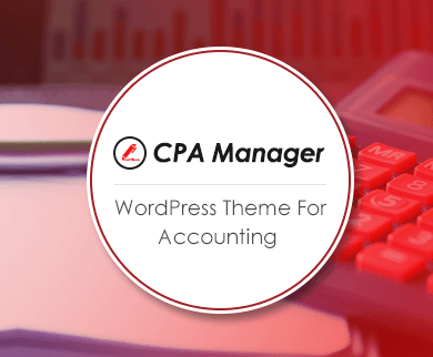 CPA Manager - Accounting WordPress Theme