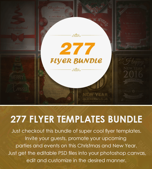 flyer templates for 2018-2016