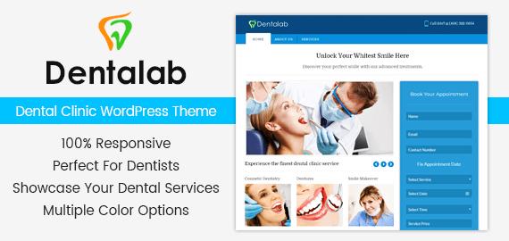 Dental Clinic WordPress Theme [Free Install]