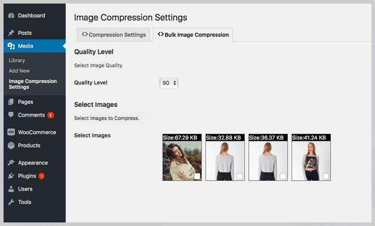 Automatic Image Compression - Image Optimization WordPress Plugins