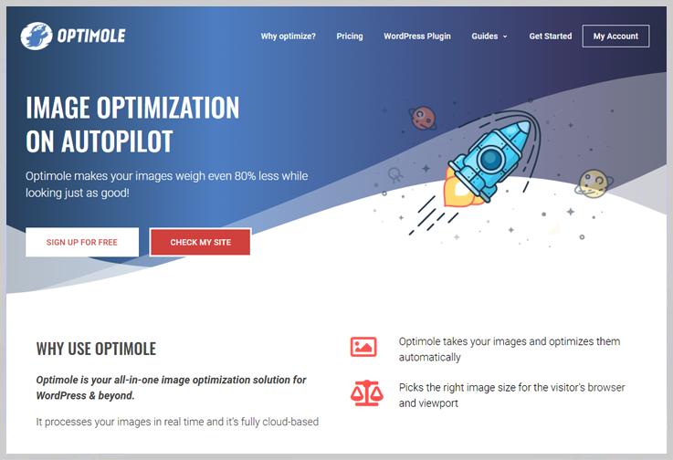 Optimole - Best Image Optimization WordPress Plugins