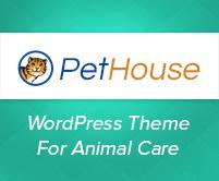 PetHouse - Animal Care WordPress Theme