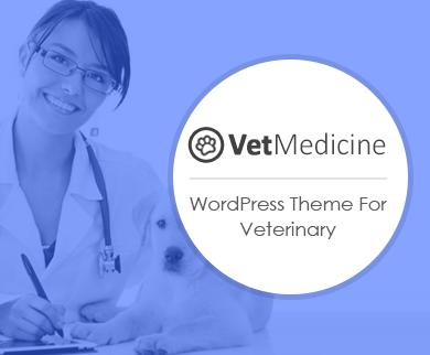 VetMedicine - Veterinary Doctor WordPress Theme