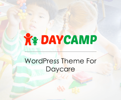 DayCamp - Day Care WordPress Theme