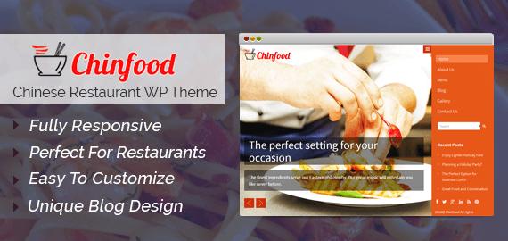 Chinese Restaurant WordPress Theme
