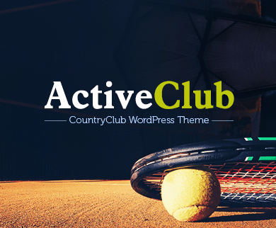 ActiveClub - Country Club WordPress Theme