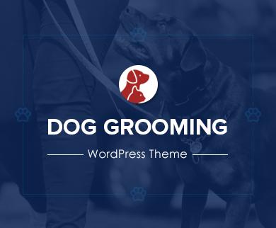 Dog Grooming - Dog & Pets Grooming WordPress Theme