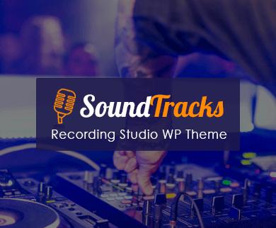 SoundTrack - Recording Studio WordPress Theme