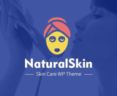 NaturalSkin - The Skin Care WordPress Theme