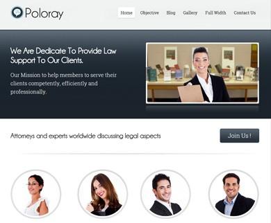 Poloray - Wordpress Lawyer Theme