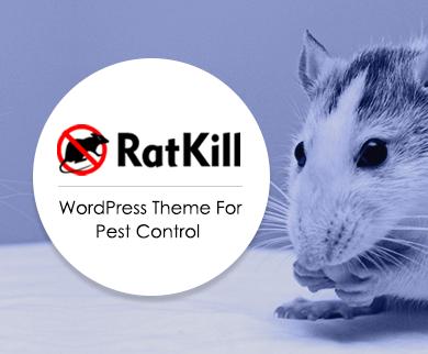 RatKill - Pest Control WordPress Theme