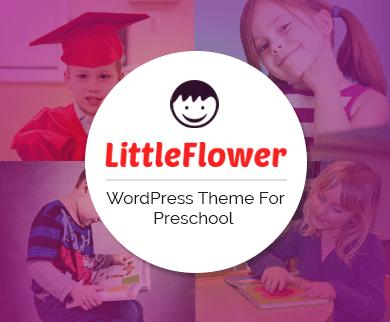 LittleFlower - Preschool WordPress Theme