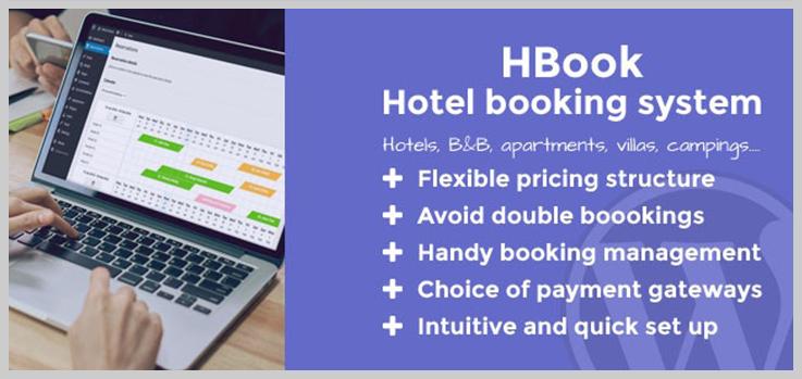 HBook - Best Appointment Scheduling WordPress Plugins