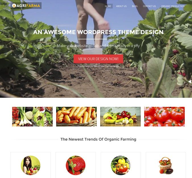 Agri Farma WP Theme