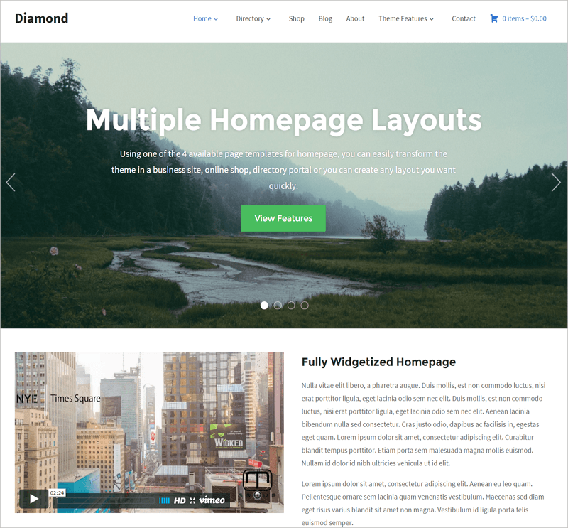 Diamond-directory-wp-themes-InkThemes