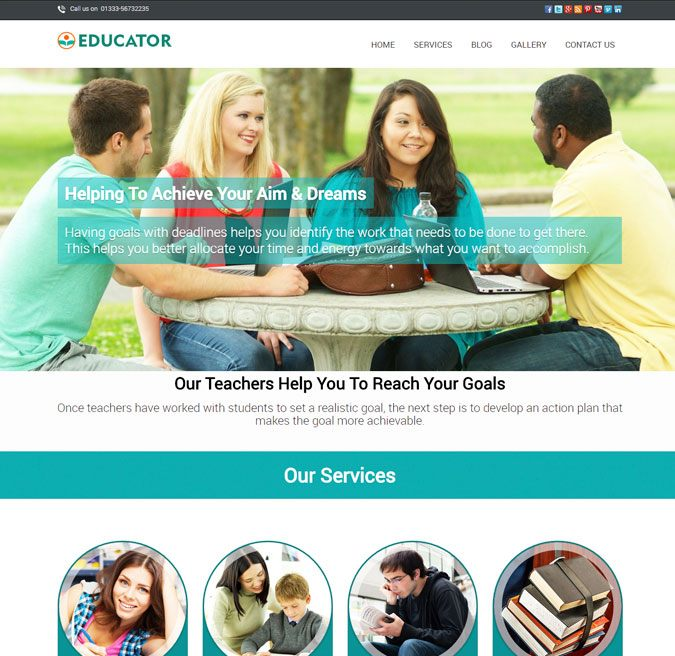 Educator WP Theme