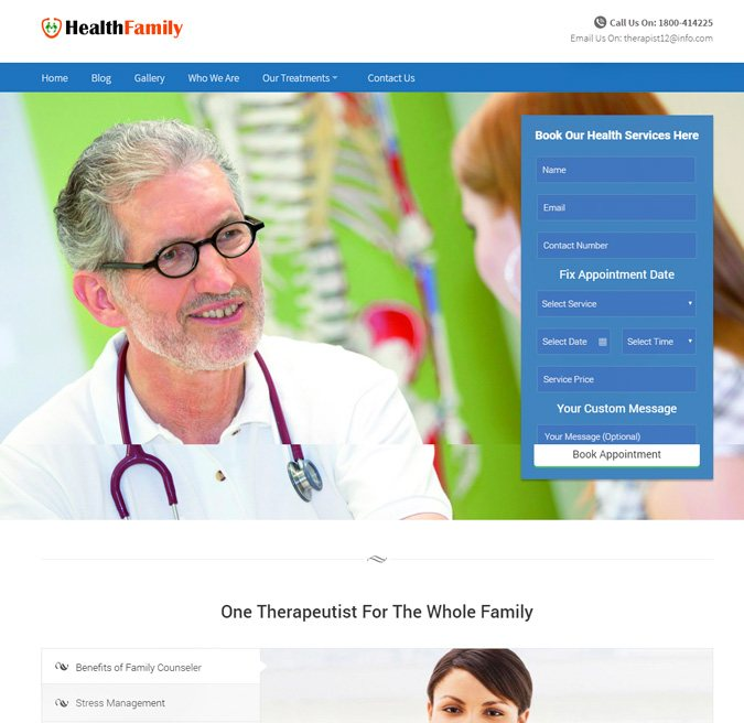 HealthFamily WP Themes