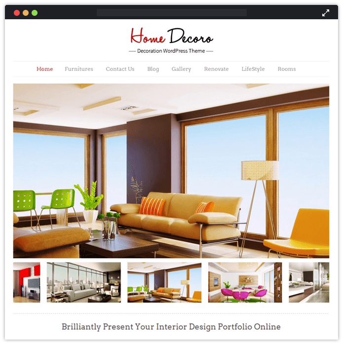 48 Best Interior Designing Remodeling WordPress Themes InkThemes Awesome Home Interior Design Blogs Remodelling