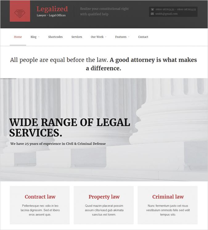 Legalized law
