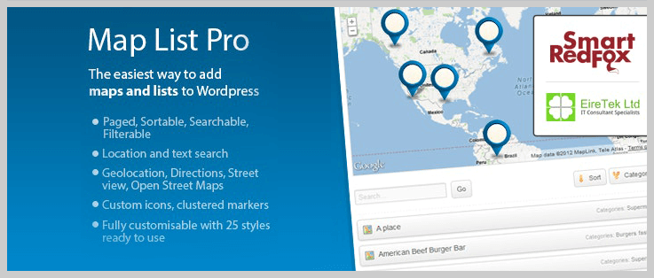 Map List Pro - WordPress Directory Plugins