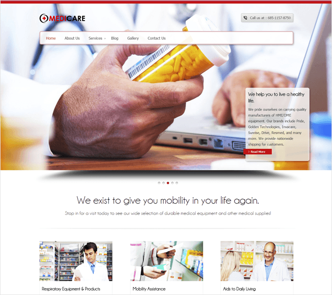 MedicalCare-local-business-wp-InkThemes