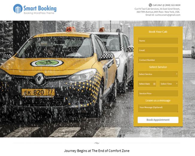 SmartBooking WordPress Theme