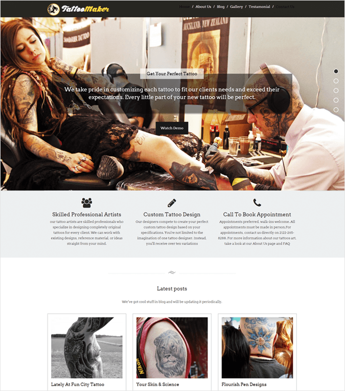 Tattomaker-local-business-wp-InkThemes