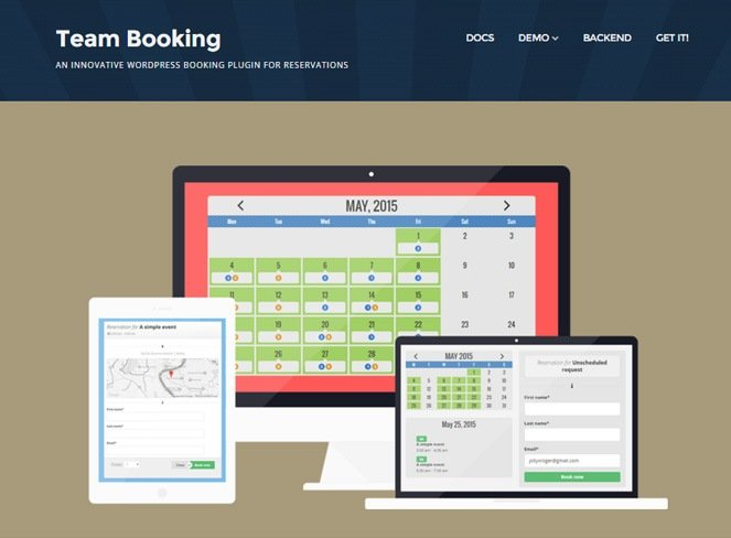 Team-Booking appointment booking wordpress plugin
