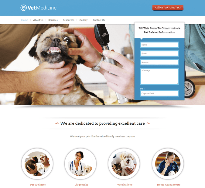 VetMedicine-local-business-wp-InkThemes
