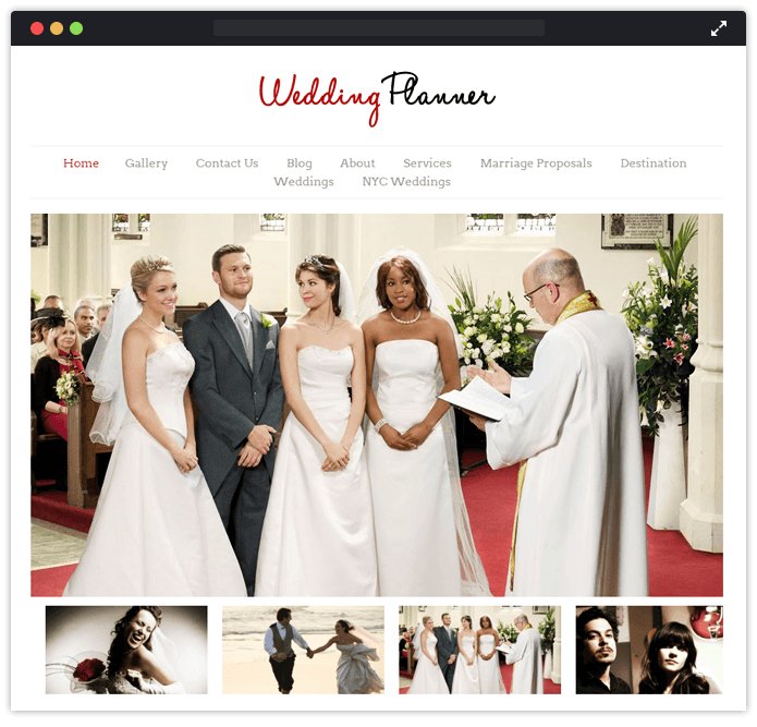 10+ Best Free Wedding WordPress Themes 2018 | InkThemes