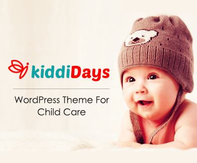 KiddiDays - Child Care WordPress Theme