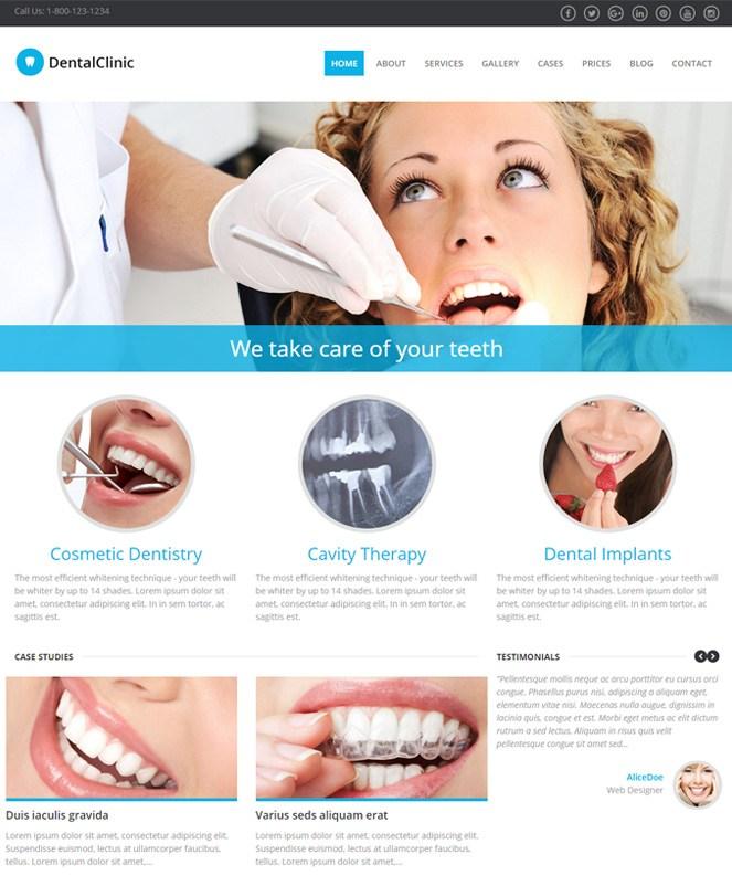 dental care template