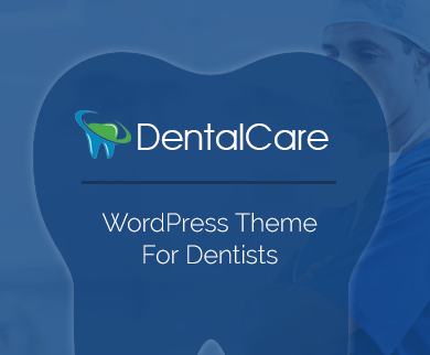 DentalCare - Dentist WordPress Theme