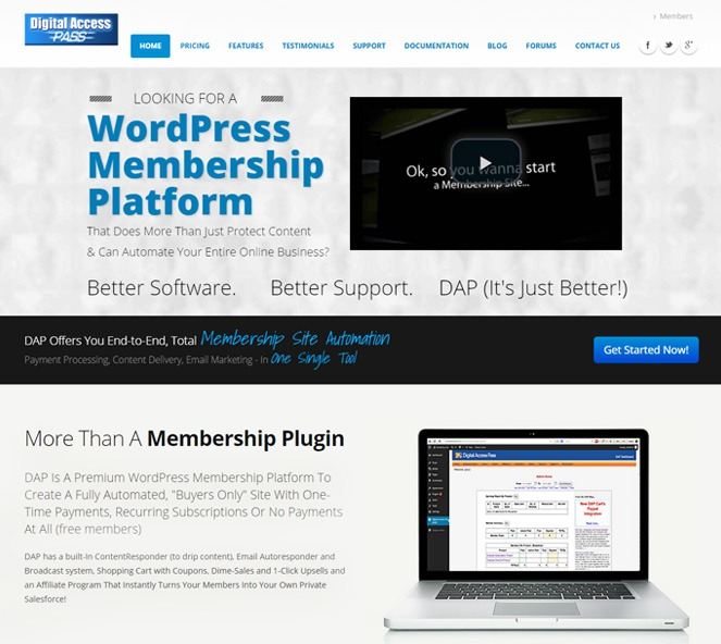 digitalaccesspass - wordpress membership manager
