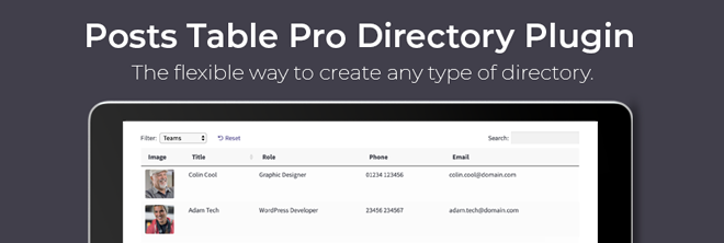 Table Pro Directory