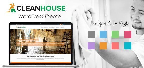 CleanHouse – Housekeeping & Cleaning Website