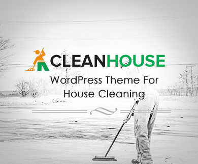 CleanHouse - House Cleaning WordPress Theme
