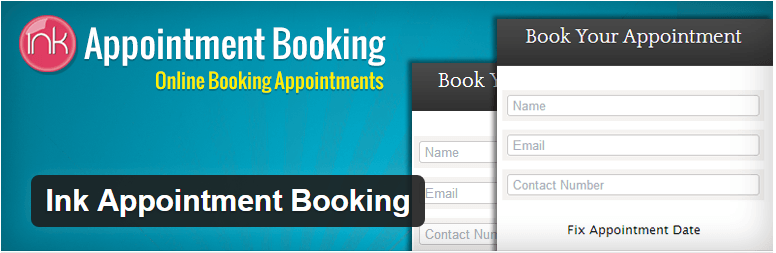 inkappointment - booking plugin