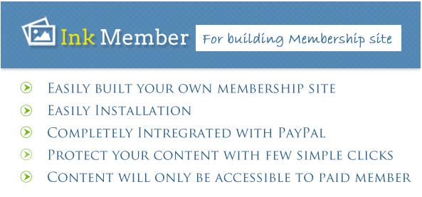 inkmember - membership wordpress plugin