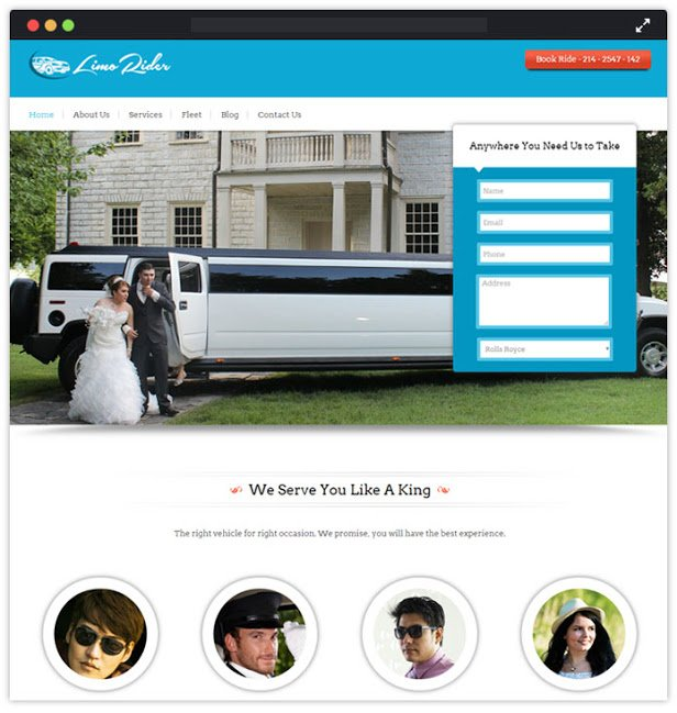 Limo WP Theme