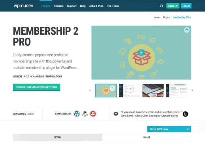 membership-pro2 - wordpress membership manager
