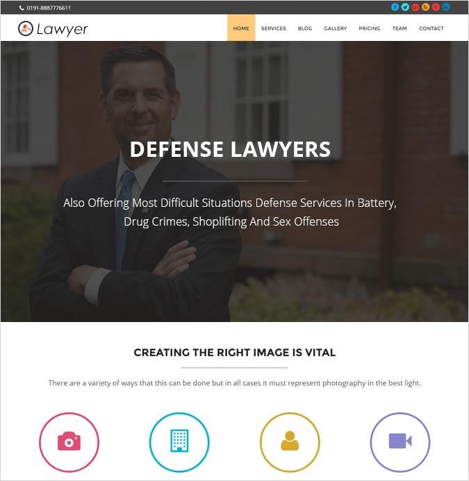 onepage-LAWYER