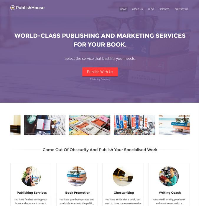 Publish House WP Theme