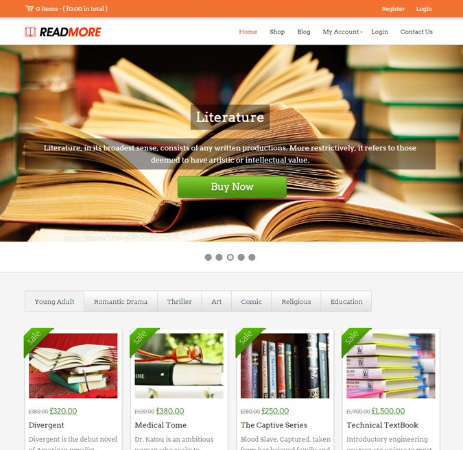 Read More WP Theme